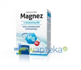 DIAGNOSIS S.A. Magnez z witaminą B6 50 tabletek BIOTTER