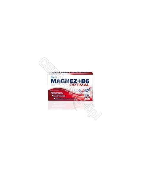 POLFARMEX Magnez+b6 optimal x 100 tabl
