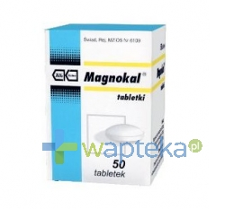 KUTNOWSKIE Z.F. POLFA S.A. Magnokal 50 tabletek