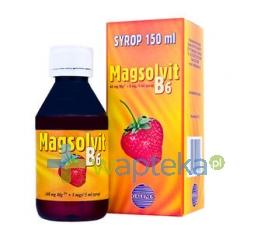 FARMACEUTYCZNA SPÓŁDZIELNIA PRACY FILOFARM Magsolvit B6 syrop 150ml