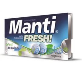 US PHARMACIA SP. Z O.O. Manti Fresh Gumy funkcjonalna smak miętowy 10 szt.