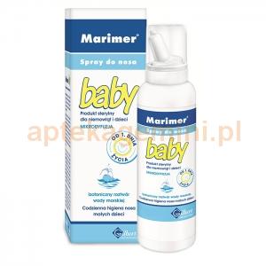 SANOFI Marimer Baby, woda morska, spray izotoniczny do nosa, dla dzieci od urodzenia, 100ml
