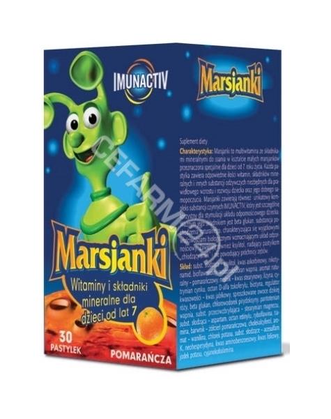 WALMARK Marsjanki imunactiv o smaku pomarańczowym x 30 tabl