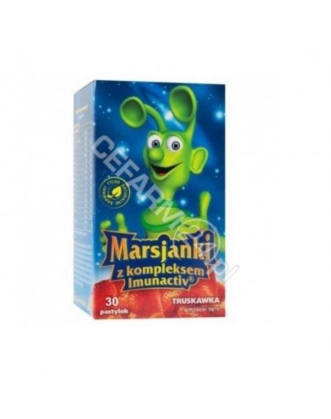 WALMARK Marsjanki imunactiv o smaku truskawkowym x 30 tabl