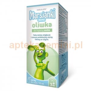 Walmark Marsjanki Mini, oliwka do higieny uszka, od 3 miesiąca, spray, 15ml