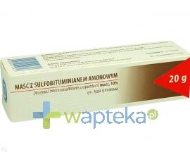 HASCO-LEK PPF Maść ichtiolowa (z sulfobituminianem amonowym) 20g HASCO
