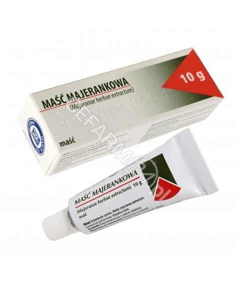 HASCO-LEK Maść majerankowa 10 g (hasco)