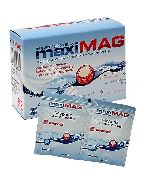 SYNTEZA Maxi-mag x 20 sasz o sm.cytr.