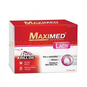 SEQUOIA Maximed Lady, 30 kapsułek