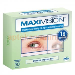 ASA Maxivision, 30 kapsułek
