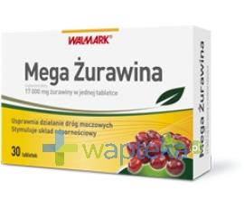 WALMARK Mega Żurawina 30 tabletek