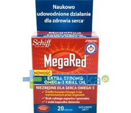 RECKITT BENCKISER (POLAND) S.A. Megared Extra Strong Omega-3 Krill Oil 20 kapsułek