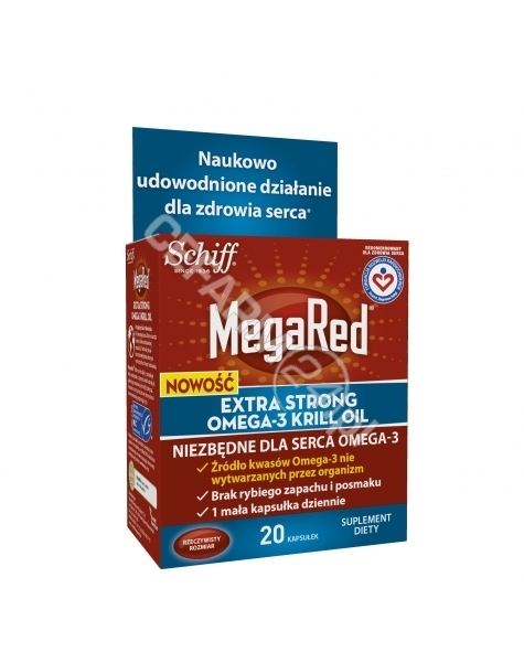RECKITT BENC MegaRed Extra Strong omega-3 krill oil x 20 kaps (data ważności <span class=