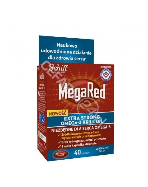 RECKITT BENC MegaRed Extra Strong omega-3 krill oil x 40 kaps