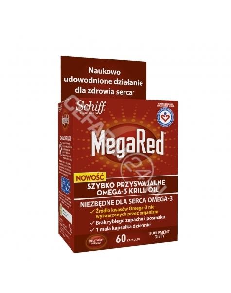 RECKITT BENC MegaRed omega-3 krill oil x 60 kaps