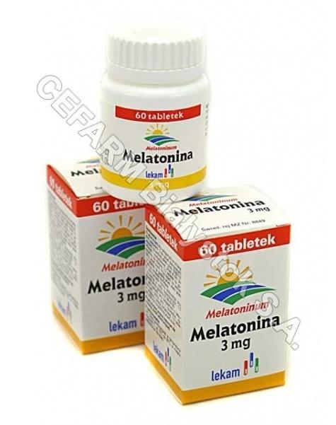LEK-AM Melatonina 3 mg x 60 tabl