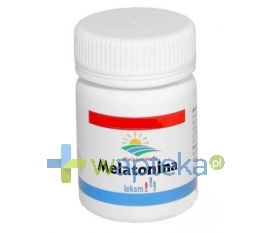 LEK-AM SP. Z O.O. P.F. Melatonina 5 mg 30 tabletek