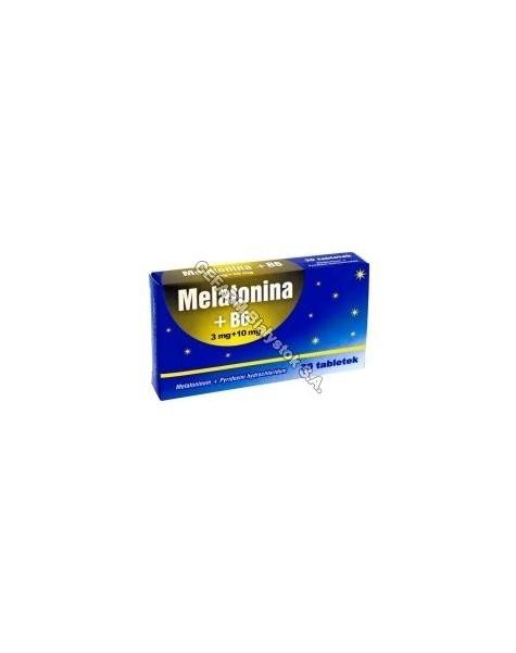 ELJOT Melatonina+b6 3mg+10mg x 30 tabl
