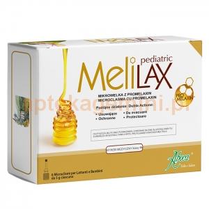 ABOCA Melilax Pediatric, od urodzenia, 6 mikrowlewek po 5g