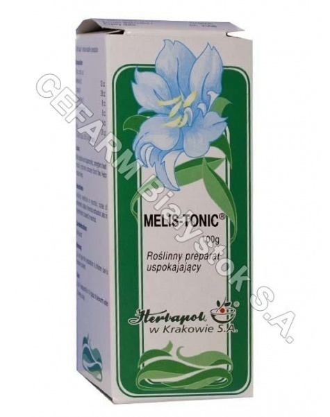HERBAPOL KRA Melis-tonic płyn 100 g