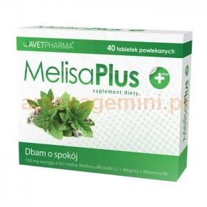 AVET PHARMA Melisa Plus, 40 tabletek OKAZJA