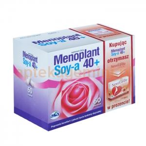 ASA Menoplant Soy-a, 60 kapsułek + Novocardia Lady 45+, 10 kapsułek + Menoplant intimia, 5ml