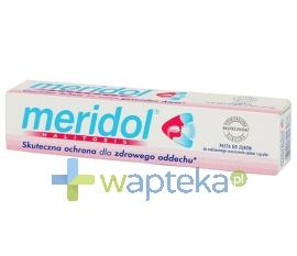 RADA SP.J.A.RUTKOWSKI MERIDOL Halitosis Żel/pasta do zębów i języka 75ml