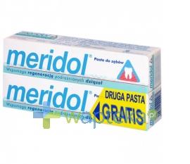 RADA SP.J.A.RUTKOWSKI MERIDOL Pasta do zębów 75 ml + druga pasta gratis 75ml