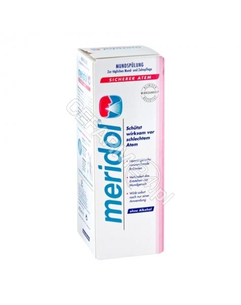 GABA Meridol Pewność Oddechu - płyn do płukania jamy ustnej 400 ml (halitosis)