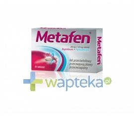 POLFA ŁÓDŹ S.A. Metafen 10 tabletek powlekanych (blister)