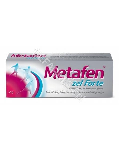 MEDANA PHARM Metafen żel forte 100 mg/g 50 g