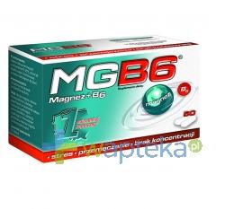 AFLOFARM FABRYKA LEKÓW SP.Z O.O. MgB6 50 tabletek