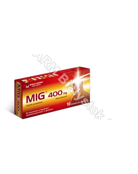 BERLIN-CHEMI Mig 400 mg x 10 tabl powlekanych