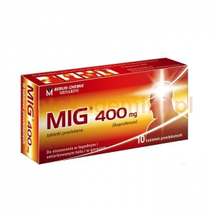 BERLIN CHEMIE MIG 400mg, 10 tabletek