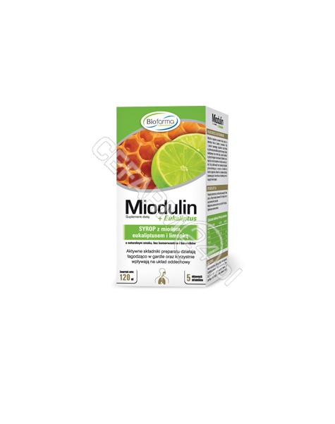 SIROSCAN Miodulin syrop 120 ml
