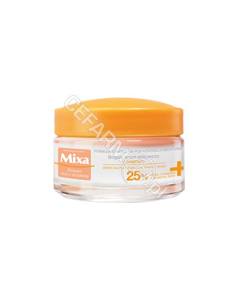 MIXA Mixa bogaty krem odżywczy z olejkiem 25% 50 ml