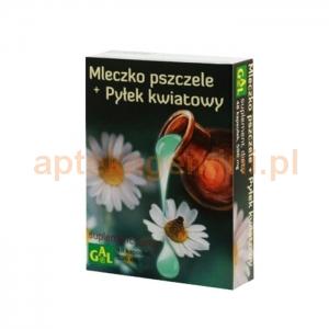 Gal Mleczko pszczele + pyłek kwiatowy, 48 kapsułek