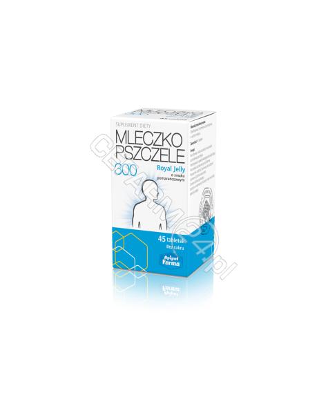 APIPOL-FARMA Mleczko pszczele royal jelly 300 mg x 45 tabl