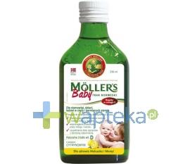 AXELLUS MOLLERS Baby Tran Norweski aromat cytrynowy 250 ml