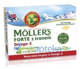 AXELLUS Mollers Forte 150 kapsułek