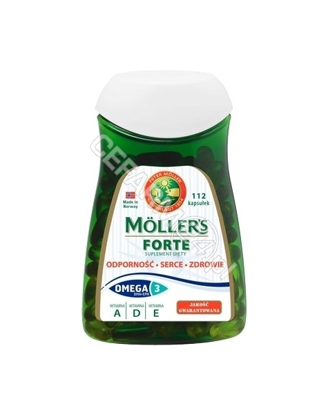 ORKLA HEALTH Mollers Forte x 112 kaps