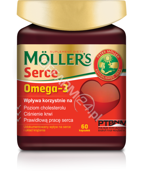 ORKLA HEALTH Mollers Serce x 60 kaps
