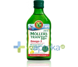AXELLUS MOLLERS Tran norweski 50+ aromat cytrynowy 250 ml