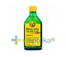 PETER MOLLER MOLLERS Tran norweski cytrynowy płyn 250 ml