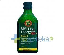 PETER MOLLER MOLLERS Tran norweski naturalny płyn 250 ml
