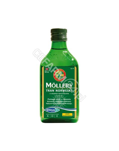ORKLA HEALTH Mollers tran norweski o aromacie naturalnym 250 ml
