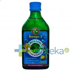 AXELLUS MOLLERS Tran norweski owocowy płyn 250 ml
