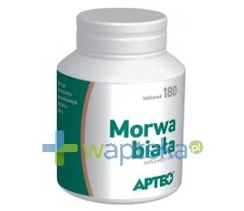SYNOPTIS PHARMA Morwa biała, Apteo, 180 tabletek