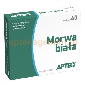 SYNOPTIS PHARMA Morwa biała, Apteo, 60 tabletek