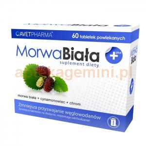 AVET PHARMA Morwa Biała Plus, 60 tabletek